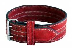Powerlifting Belt Red - 4