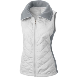 Women's Mix Fleece Vest