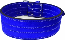 Powerlifting Belt Blue - 4