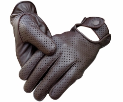 Men's Lambskin Mesh Driving Gloves